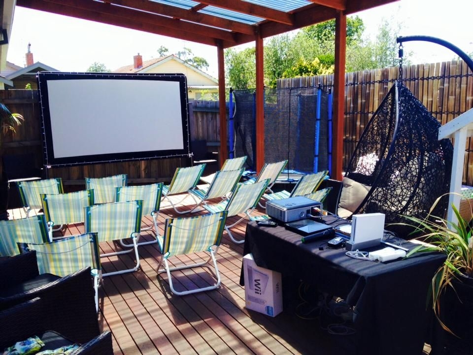Birthday and Parties | Backyard Movie Nights
