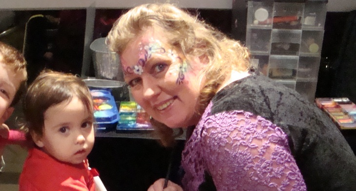 Gypsy Janine Face Painting